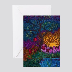 Tree / Sun / Flower Greeting Cards (pk Of 10)