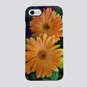 Orange Daisy iPhone 7 Tough Case