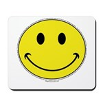 Smiley Face Happy Mousepad