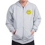 Smiley Face Zip Hoodie
