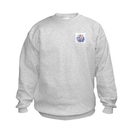 Snowflake Fairy Kids Sweatshirt
