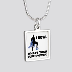 Bowling Superhero Necklaces