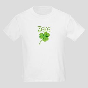 Zeke shamrock Kids Light T-Shirt