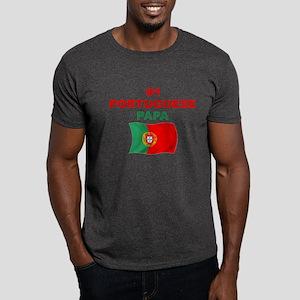 #1 Portuguese Papa Dark T-Shirt