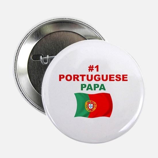 """#1 Portuguese Papa 2.25"""" Button"""