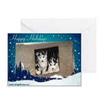 Puppy Happy Holidays Cards (Pk of 10)