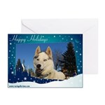 Bluie Happy Holidays Cards (Pk of 10)