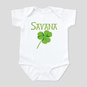 Savana shamrock Infant Bodysuit