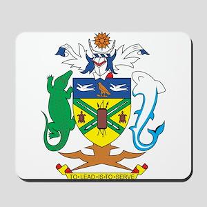 Solomon Islands Coat of Ar Mousepad