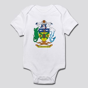 Solomon Islands Coat of Ar Infant Bodysuit