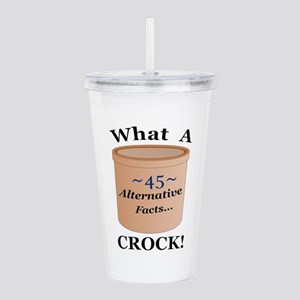 45 Alternative Facts Acrylic Double-wall Tumbler