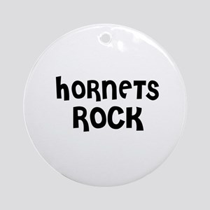 HORNETS ROCK Ornament (Round)