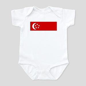 SINGAPORE Flag Infant Bodysuit