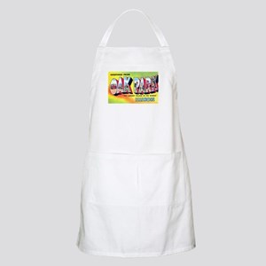 Oak Park Illinois Greetings BBQ Apron