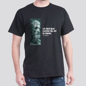 "Aristophanes ""Each Man"" Dark T-Shirt"