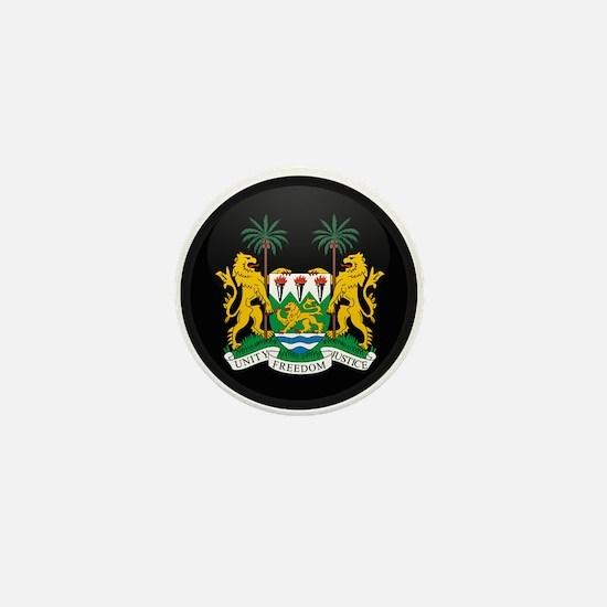 Coat of Arms of Sierra Leone Mini Button