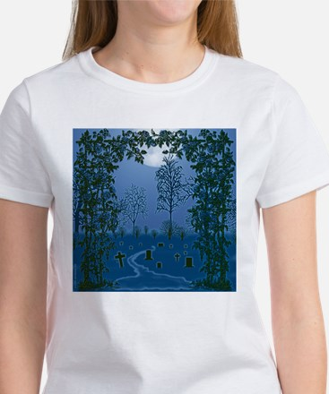 Ghostly Nights Women's T-Shirt