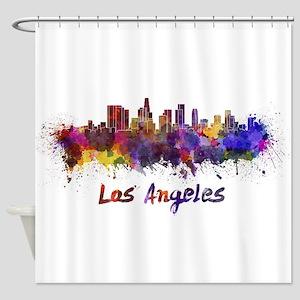 I Love LA Shower Curtain