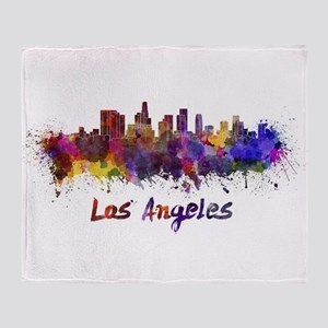 I Love LA Throw Blanket