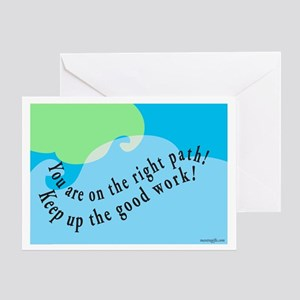 Words of Encouragement Greeting Card