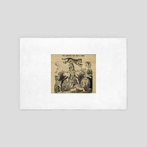 Van Amburgh The Brute Tamer 4' x 6' Rug