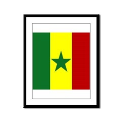 Senegalese Framed Panel Print