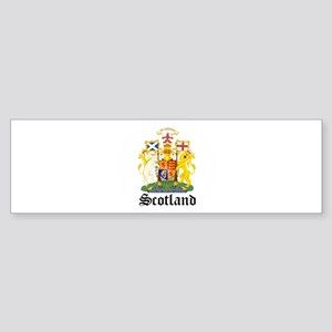 scottish Coat of Arms Seal Bumper Sticker