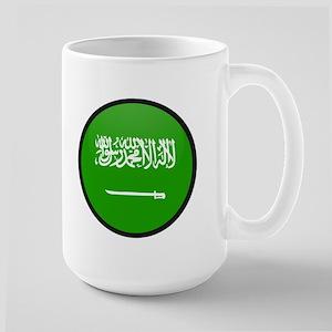 Saudi Arabia Large Mug