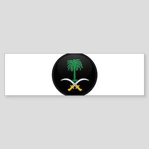 Coat of Arms of Saudi Arabia Bumper Sticker