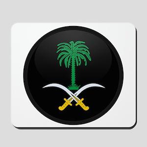 Coat of Arms of Saudi Arabia Mousepad