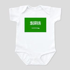 Saudi Arabia Flag Infant Bodysuit