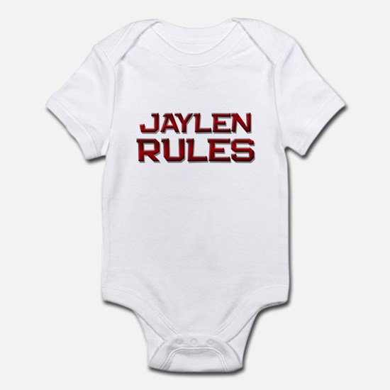 jaylen rules Infant Bodysuit