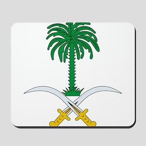 Saudi Arabia Coat of Arms Mousepad