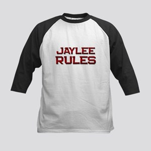 jaylee rules Kids Baseball Jersey