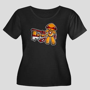 Junior Mascot Women's Plus Size Tee (D)