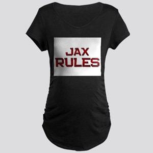 jax rules Maternity Dark T-Shirt