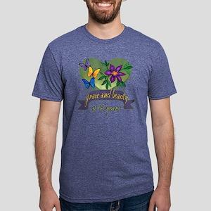 65th Birthday Grace Mens Tri-blend T-Shirt