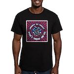 Liberty Snake Men's Fitted T-Shirt (dark)