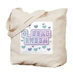 Pastels I Love Daddy Tote Bag