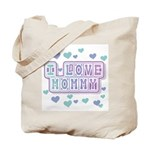 Pastels I Love Mommy Tote Bag