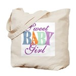 Sweet Baby Girl Diaper & Tote Bag