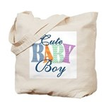 Cute Baby Boy Diaper & Tote Bag