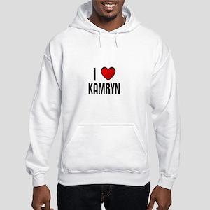 I LOVE KAMRYN Hooded Sweatshirt