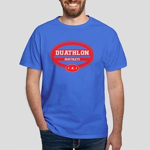 Duathlon Red Oval-Women's Duathlete Dark T-Shirt