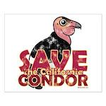 Save the California Condor Small Poster