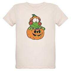 Silly Froggy in Pumpkin T-Shirt