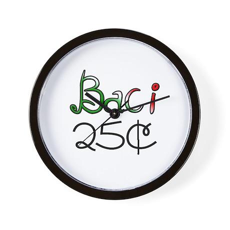 Baci 25 Cents Wall Clock