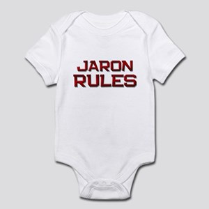 jaron rules Infant Bodysuit