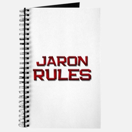jaron rules Journal