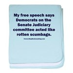 Senate Judiciary Democrats baby blanket